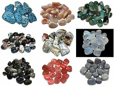 Large Crystal Healing Gemstone Tumblestone Chakra Polished Stone x 1 - 15-30mm