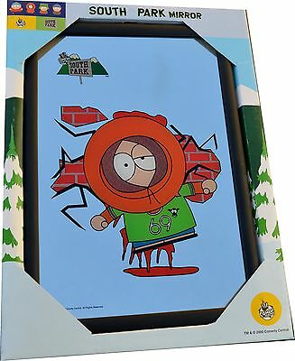 SOUTH PARK Licensed WALL MIRROR Kenny Cartman Cartoons Boys Girls Gift Toy