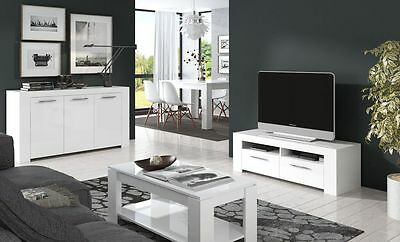 Ansel Modern Living Room Furniture | TV Unit | Coffee Table | Sideboard
