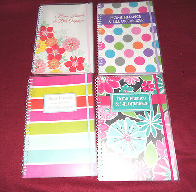 Bill Organizer And Monthly Home Finance With Pockets: 4 More Styles Options....