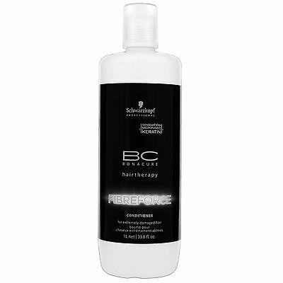 Schwarzkopf BC Bonacure Fibre Force Conditioner 1000ml for all BRAND NEW