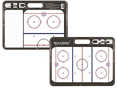 NEW Sport Write Dry Erase Doubled Sided Coaches Hockey Board