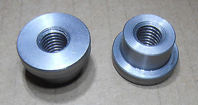 """X 3//4/"""" LONG STEEL MADE IN THE USA ! 4 PIECES  9//16-12 THREADED WELD BUNG 1/""""DIA"""