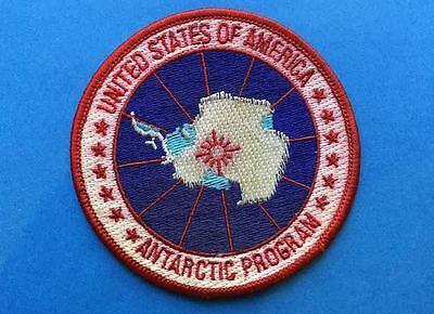Rare US United States Of America Antarctic Program Jacket Backpack Patch Crest E