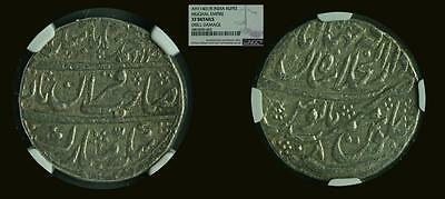 Rupee of Muhammad Shah (Mughal Empire) NGC XF Details (AH 1140//8) KM-437.4