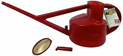 Bosmere Haws Longreach 5L Outdoor Plastic Watering Can - Red