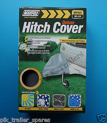 FREE P&P* Deluxe Heavy Duty Caravan Coupling Hitch Protective Cover #925