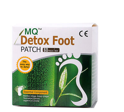 60 PACKS GOLD DETOX  FOOT  PATCH - Detoxify Toxins Improve Sleep Beauty Slimming