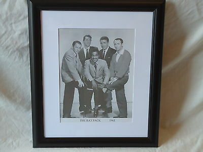 The Rat Pack Black & White Framed Photo Print 42 cm x 36 cm/Promotion Photograph