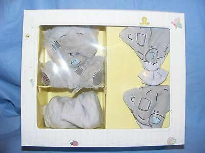 Me To You Bear Tiny Tatty Teddy Gift New Baby Mittens Socks Present G92g0037