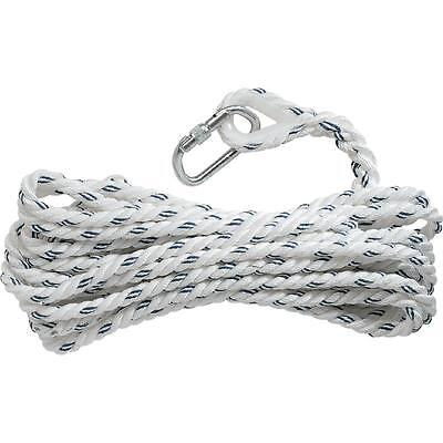 Delta Plus Work Height Safety Fall Arrest Rope Anchorage Line With Karabiner 10M