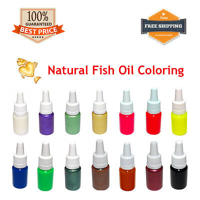 Fishing Color Pigment + Soft Liquid Plastic Plastisol for Bait Mold