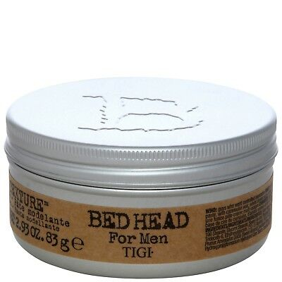 NEW TIGI Bed Head For Men Styling Pure Texture Molding Paste 83g FREE P&P
