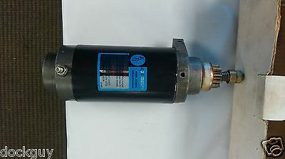 Mercury 50-66015 starter for O/B motor NOS OPEN box 75 to 125 HP OUTBOARD MOTOR
