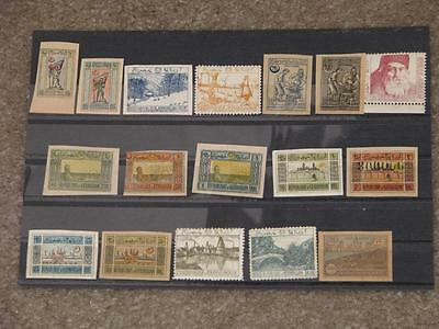 Small lot of Early Unused Azerbaijan Stamps