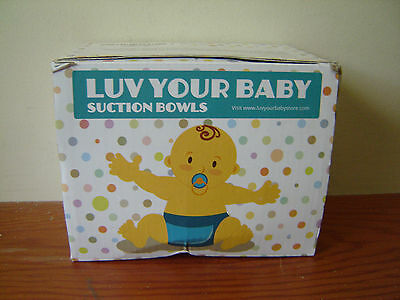 LUV YOUR BABY Suction Bowls