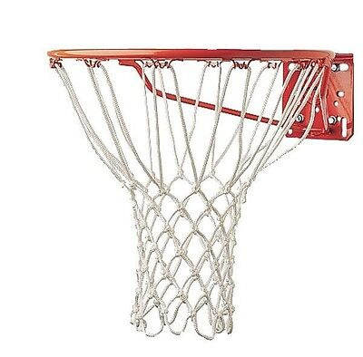 "New Champion Non Whip 12 Loop 21"" 6 mm Heavy Duty Professional Basketball Net Wt"