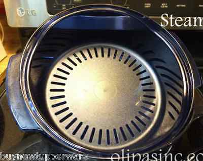 Tupperware Stack Cooker Acrylic Microwave Safe 1 3/4qt Steamer / Colander New