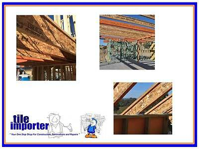 """Smart Joist """"I"""" Beams - 300mm x 40mm x 7.2m Structural Timber $12.90 LM"""