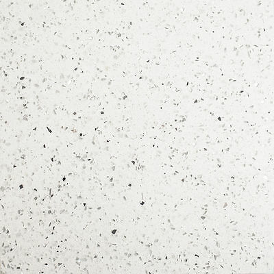 Sample White Quartz Mirror Fleck  Stardust Starlight  Sparkle Floor & Wall Tile