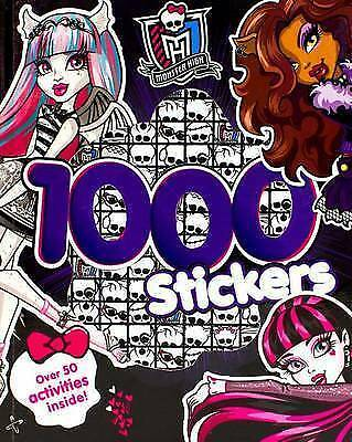 Monster High 1000 Stickers Book by Parragon (Paperback / softback, 2014)