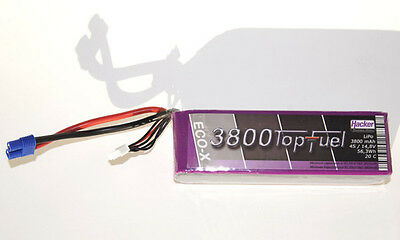 Hacker Top Fuel ECO X- 20C Lipo Akku 3S / 11,1V 3800mAh 23800331
