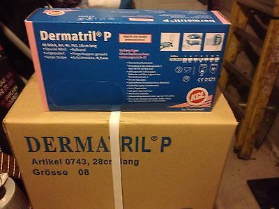 KCL DERMATRIL P NITRILE GLOVE. Long Cuff. Powder Free. Pack Of 10 pieces