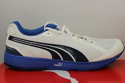 c9e0b39f6f04 Men s Puma Descendant V1 CN White Insignia Blue Eco OrthoLite 18728704 Brand  New