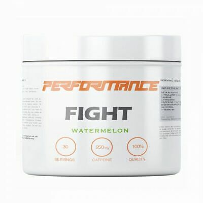 Performance Fight Pre Workout 30 Servings Strong Crossfit / MMA Energy Drink