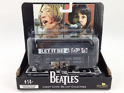 The Beatles Album Cover Diecast Double Decker Bus Let it Be - New/Unopened
