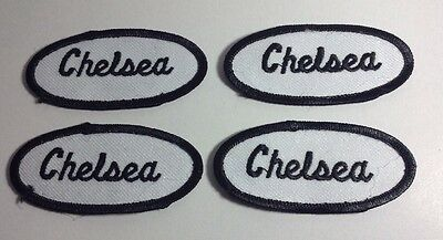 CHRISTY EMBROIDERED SEW ON NAME PATCH LOT OF 3 ~ NAME TAG
