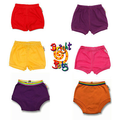 Bright Bots Bloomers Shorts Nappy Covers - Various Sizes/Colours