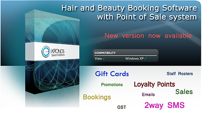 Salon Software - Manages all your Bookings