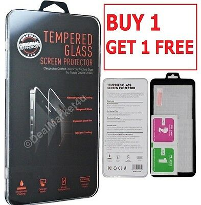 100% Genuine Tempered Glass Film Screen Protector Protection Apple Iphone 7 Plus