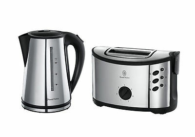 Russell Hobbs 14816 Regent Kettle And 2 Slice Toaster Twin Pack - Free Shipping