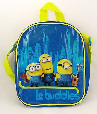 Kids Childrens Mini Despicable Me Minions Small School Bag Backpack Travel 24 Cm