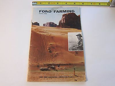 Summer 1959 Ford Farming Tractor Magazine Color Brochure LOTS MORE Listed