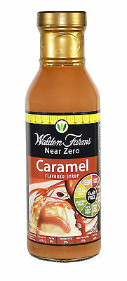 WALDEN FARMS NEAR ZERO CALORIE CARAMEL SYRUP 355ml (DAIRY FREE-GUILT FREE)