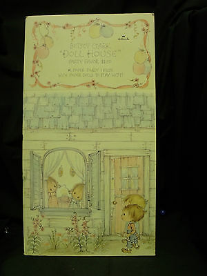 "Rare Hallmark Betsey Clark Doll House Party Favor 150PF 160-9  13 x 34"" Wide"