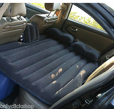 Travel Car Inflatable Travel Holiday Camping Seat Sleep Spare Mattress Air Bed