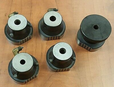 (5) Charmilles Edm Electrode Holders & Indexer, For Magnetic Chuck