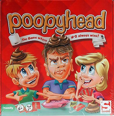 Poopy Head - Doggy Poo Novelty Fun Kids Children Family Board Game
