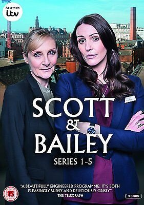 Scott and Bailey: Complete Series season 1, 2, 3, 4 & 5 DVD Box Set