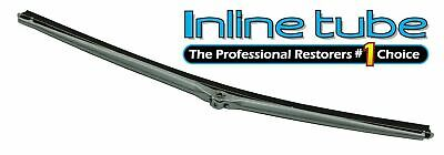 """68-72 GM A-body 16"""" Wiper Arm Blade Stainless Rubber Brushed Finish Trico Style1"""