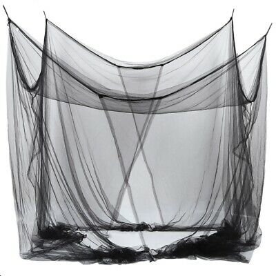 4-Corner Bed Netting Canopy Mosquito Net for Queen HY