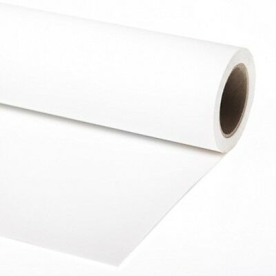 Arctic white photographic background paper roll 1.3x11m superior
