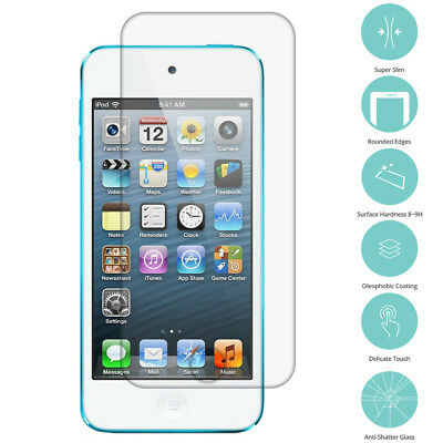 2X Real Premium Tempered Glass Film Screen Protector for iPod Touch 5th Gen 5G
