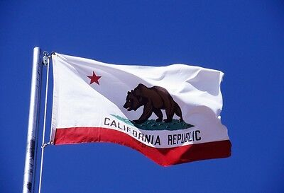 3x5 ft California State Flag United States Flag Banner Outdoor Indoor Home Decor