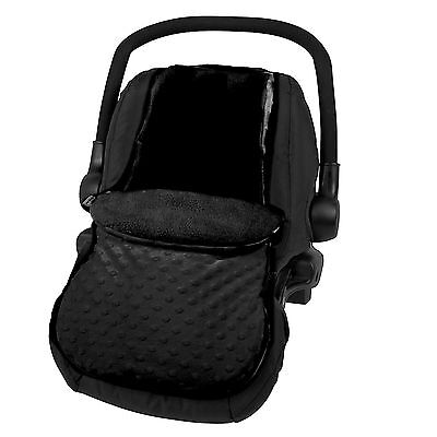 New 4Baby Dimple Black Universal Baby Car Seat Footmuff Carseat Cosytoes