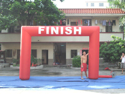 15ft Inflatable Arch Archway With Fan CUSTOM MADE Running Timing Racing Club